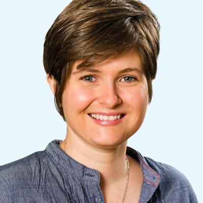 Portrait Olivia Slavkovsky (Team Bildung der Reformierten Landeskirche Aargau)