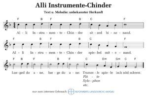 Alli Instrumentechinder (Quelle unbekannt)