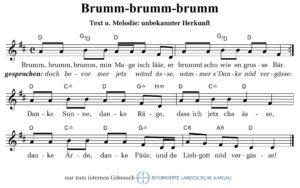 Brumm, brumm, brumm (Quelle unbekannt)