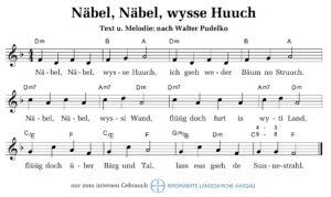 Näbel, wysse Huuch (M+T: Walter Pudelko)