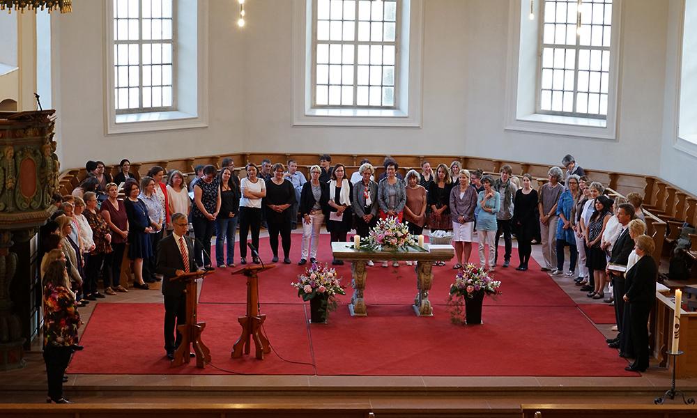 21. Mai 2017: Zweite Beauftragung von Katechetinnen in Brugg