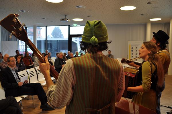 Feinsinnig und feinstimmig wurde die PH-Jahreskonferenz 2011 mit Musik von Trionettli umrahmt.