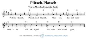 Plitsch, Platsch (M+T: Franziska Raske)